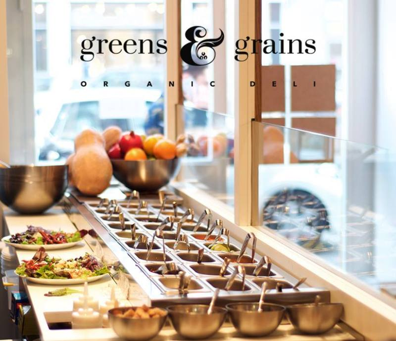 Green & Grains interior